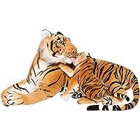Brubaker Peluche Tigre con Bebé Tigre de Color Carmelita ...