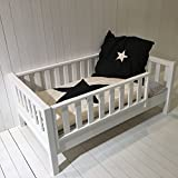 Juniorbett ROOMSTAR®, Zwischengröße 90x160cm, inkl. Umbausatz für 90x200cm Basisbett, weiss,...