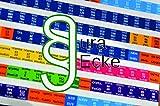 Jura Griffregister für die Gesetzessammlungen Schönfelder UND Sartorius, selbstklebende Farblabels mit Gesetzes- und Paragraphenbezeichnung, 224 Stück farbig von Jura-Ecke