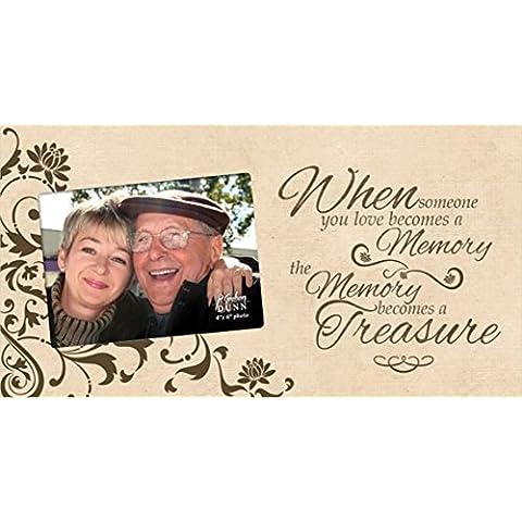Memoria diventa un tesoro legno 4 x 6 Photo Wall telaio con cavalletto posteriore
