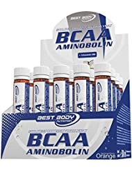 Best Body Nutrition BCAA Aminobolin, 20 Trinkfläschchen à 25 ml Orange