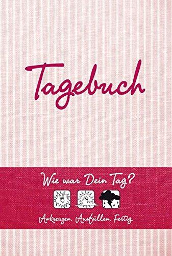 Tagebuch (rot): Wie war Dein Tag? Ankreuzen - Ausfüllen - Fertig - Des Geldes Seite 3 Böse