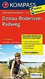Fahrrad-Tourenkarte Donau-Bodensee-Radweg: Fahrrad-Tourenkarte. GPS-genau. 1:50000.: Fietsroutekaart 1:50 000 (KOMPASS-Fahrrad-Tourenkarten, Band 7018)