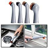 JML Turbo Brush 4 pezzi di ricambio Pulitore sonico ad alta potenza pulizia di precisione Cucina, Bagno, gioielli per pulizia Confezione sostituzione immagine