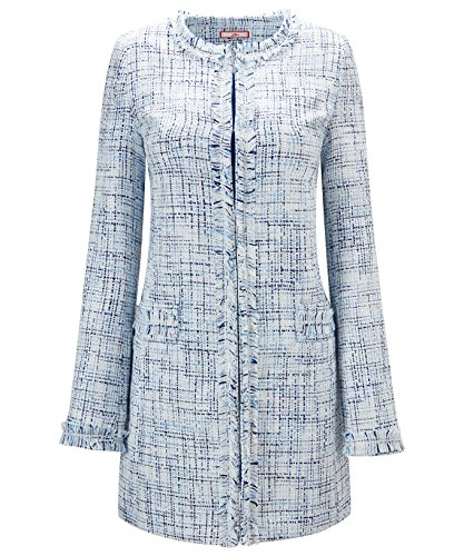 Joe Browns Womens Smart Collarless Tweed Coat