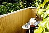 PVC Sichtschutz bambus 1,6 x 10 m Rolle