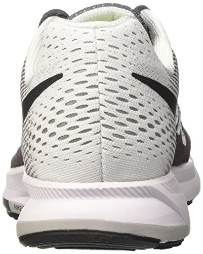 Nike Wmns Air Zoom Pegasus 33, Chaussures de Running Entrainement Fille Gris (Dark Grey/black/white)
