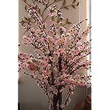 Homescapes árbol artificial con flores de color rosa, 153 cm altura