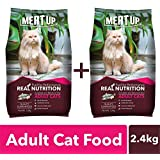 Meat Up Adult Cat Food, Ocean Fish - 1.2 kg Pack