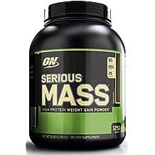 Optimum Nutrition Serious Mass Ganador, Chocolate - 2721g