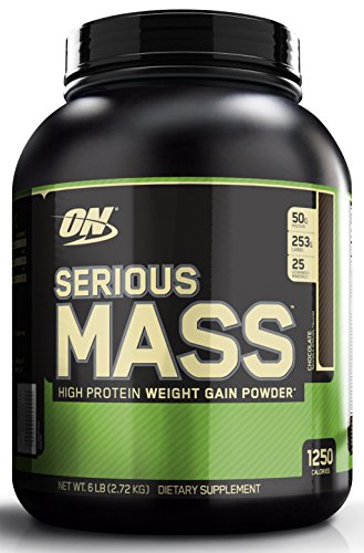 Optimum Nutrition Serious Mass 2727 g Chocolate Weight Gain Powder