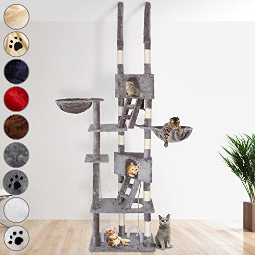 Produktabbildung von Leopet Kratzbaum deckenhoch -Farbwahl- Katzenkratzbaum Katzenbaum Sisal deckenhoch Kletterbaum Katzen