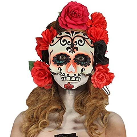 Media Careta de Calavera para Halloween