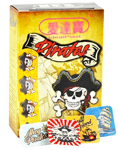 cute-cartoon-first-aid-bandages-bandaging-supplies-band-aids-pirate