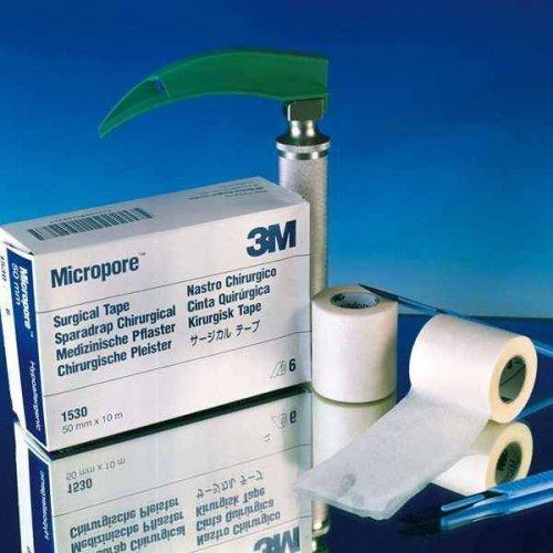 Micropore Pflaster 3M 2,50 cm x 9,1 m weiß rollenpflaster rollenpflaster selbsthaftend pflaster rolle fixierpflaster fixierpflaster sensitive -