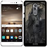 519jgy21 WL. SL160  UK BEST BUY #1Case for Huawei Mate 9 Lite   Gothic Friesian Horse by Gatterwe price Reviews uk