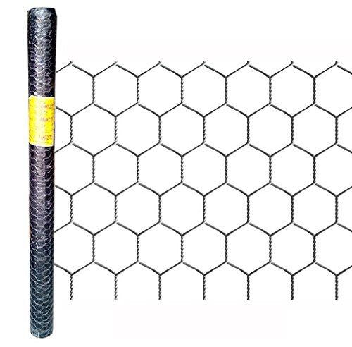 25m 100cm 25mm Sechseckgeflecht Kaninchendraht Maschendraht-Zaun 0.8mm