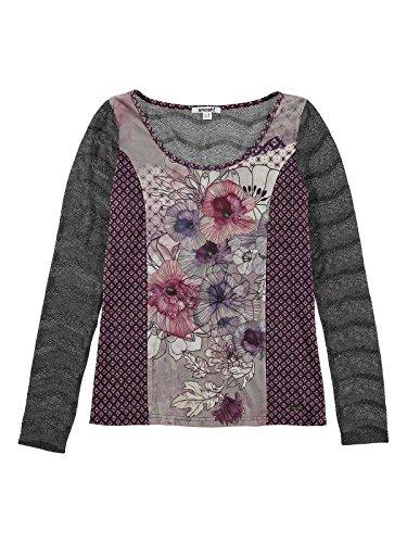 SMASH Miret Camiseta A Manga Larga-A1613329, T-Shirt Femme Rose