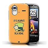 Coque de Stuff4 / Coque pour HTC Amaze 4G / Mad Hatter / Heure du Thé Design / Fantaisie Pays Merveilles Art Collection