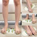 Steellwingsf Fußmassageroller aus Kunstharz, lindert Plantarfasziitis, Fersenfüße, Massagegerät