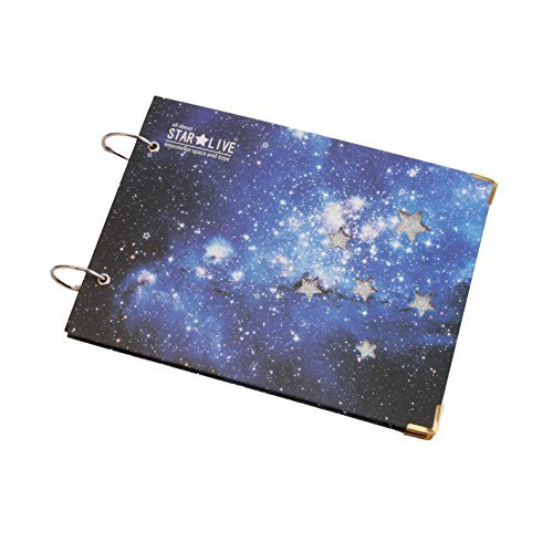 Flylther Scrapbook Diy Photo Albums 38 Sheets76 Pages Galaxy
