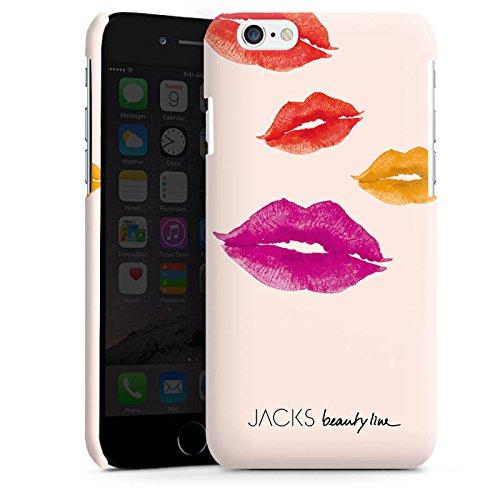 Apple iPhone 5s Housse Étui Protection Coque Bouche Bisous Bisou Cas Premium brillant