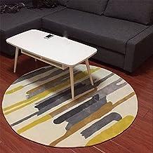 Upper-Breve alfombra, moderna personalidad, moda, banda alfombra redonda, salón, despacho, dormitorio, alfombra, hogar alfombra insonorizadas,160cm.