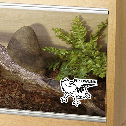 Epic Modz Customised Bearded Dragon Tank Vinyl Decal Sticker Reptile Vivarium Car...