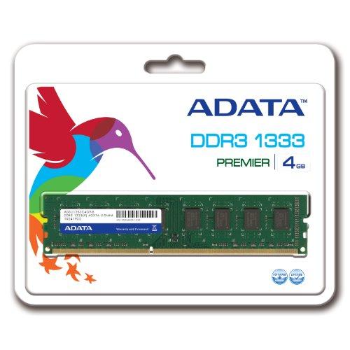 Adata 4gb Ddr3 1333 Ad3u1333c4g9-r Desktop Memory