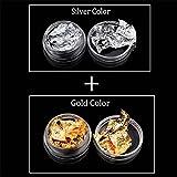 Arichtop Folie Papier Glitter Aufkleber UV-Nagel-Kunst-Gel-Polnisches Design Nagel Produkte Werkzeuge für Dekoration