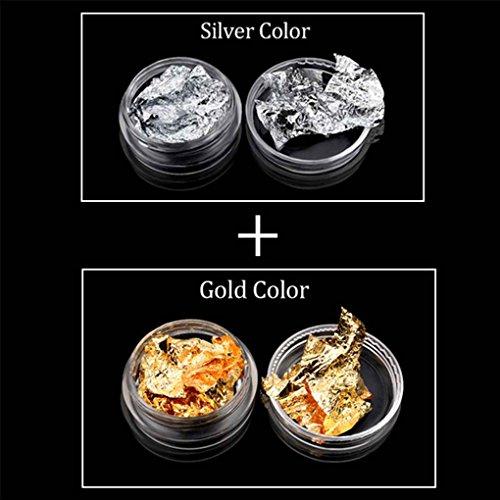 censhaorme Lámina de Papel Etiqueta engomada del Brillo de uñas UV Arte Diseño del Polaco del Gel Productos para Las uñas Herramientas para la decoración