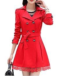 finest selection 5779a de46d cappotto rosso donna: Abbigliamento - Amazon.it