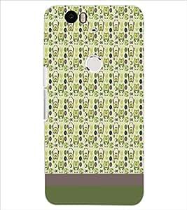 HUAWEI NEXUS 6P PATTERN Designer Back Cover Case By PRINTSWAG