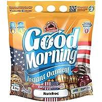Max Protein - Good Morning Instant Oatmeal, Harina de avena, 1,5kg Nutchoc