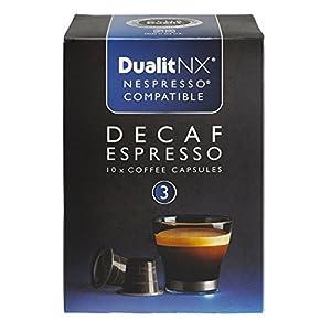 Dualit NX Decaf Espresso Light Coffee Pod Capsules x 10