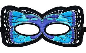 DREAMY DRESS-UPS 67800 - Máscara de Mariposa, Morpho peleides, Talla única