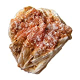 Vanadinite Crystal Slice, Rough Vanadinite Gemstone, Rare Semiprecious Stone, 35x28x15mm, AS-16278