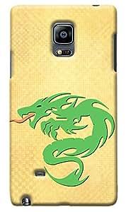 Kasemantra Dragon Power Case For Samsung Galaxy Note Edge