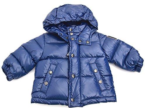 Moncler giubbotto imbottito bambino junior blu art. pusr55 n0d04 40163 3/6 mesi - months blu - blue