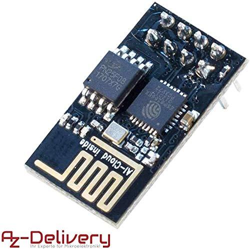 AZDelivery ESP-01 esp8266 WiFi Modulo per Arduino, Raspberry Pi e Microcontroller con eBook