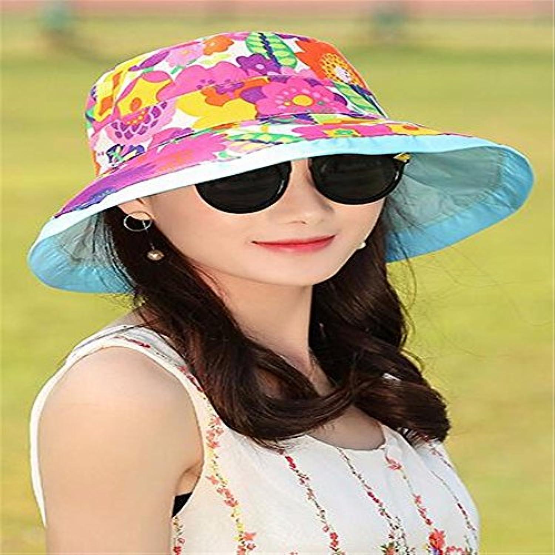 RangYR Cappello Estivo Donna Autunno Cappello Sole Bifacciale Da Sole  Cappello A Doppia Faccia Con Cappello a77092a53cc9