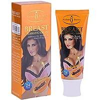 AICHUN 120G Tipo de Papaya de NAtural Crema de Ampliación de Seno Forma de Cuerpo de Mujer Rápida Aumentar Crema de Mejora de Senos