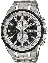 5e0fe8b3b73d Casio Reloj Cronógrafo para Hombre de Cuarzo con Correa en Acero Inoxidable  EFR-549D-