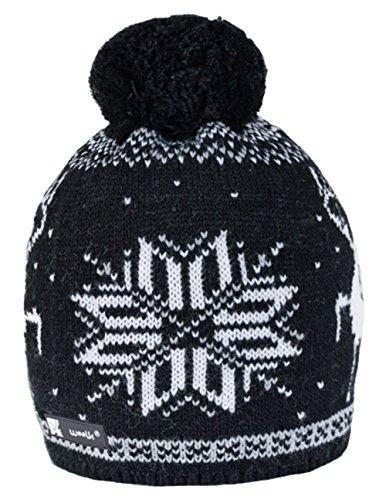 Nordic Wool (Wurm Winter Cookies Style Beanie Mütze mit Ponpon Damen Herren HAT HATS SKI Snowboard Morefazltd (TM) (Nordic 50))