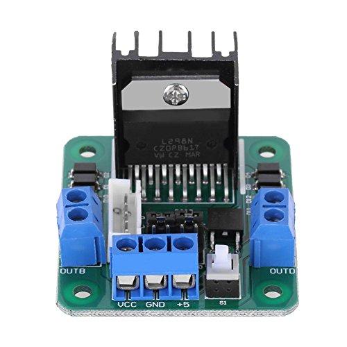 powlance 20W Dual H-Bridge Stepper L298N Motor Drive Controller Modul für Arduino