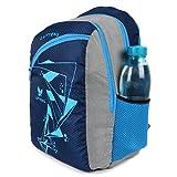 Lutyens Blue Polyester Basic Quality School Bag (21 Litre) (Lutyens_267)
