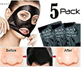 #6: Pilaten Black head White head Remover Charcoal Deep Cleansing Purifying Peel Acne Mask (5 Pack)