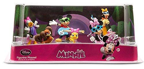 Disney Mickey Mouse Minnie Rock Star PVC Figures
