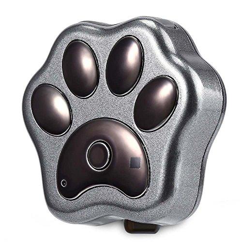 Localizador de mascotas, con WIFI, luz de LED, y GPS, ideal para poner en el collar, incluye aplicación para iPhone y Android