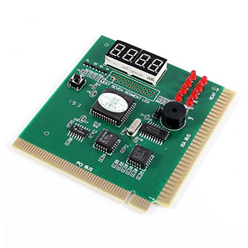 PC Motherboard-Diagnosekarte 4-stellige PCI / ISA-POST-Code Analyzer (Post Display Remote)